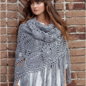 Top 10 Patterns For Cozy Knitted Or Crocheted Summer Shawls | Top Inspired