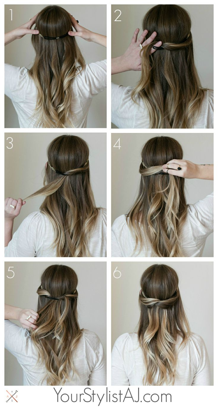 simple hairstyle tutorials