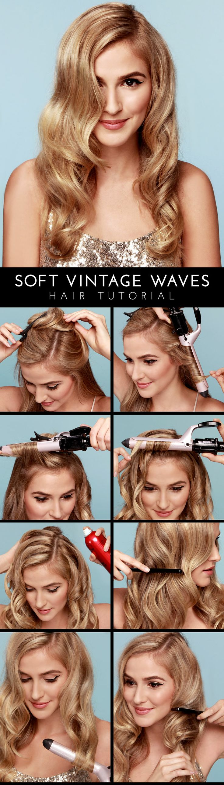 Soft-Vintage-Waves-Hair-Tutorial