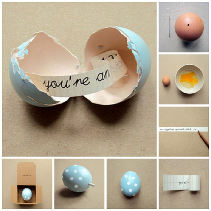 These ideas are followed with step-by-step instructions and you won't find it difficult to make them! Check out the list and be proud of your egg decorations for Easter. #Easter