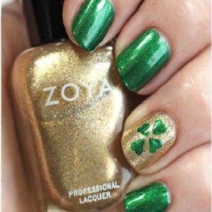 Top 10 Lucky Shamrock Nail Art Tutorial For St. Patrick's Day | Top Inspired