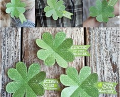 St. Patrick Day Shamrock With Sayings