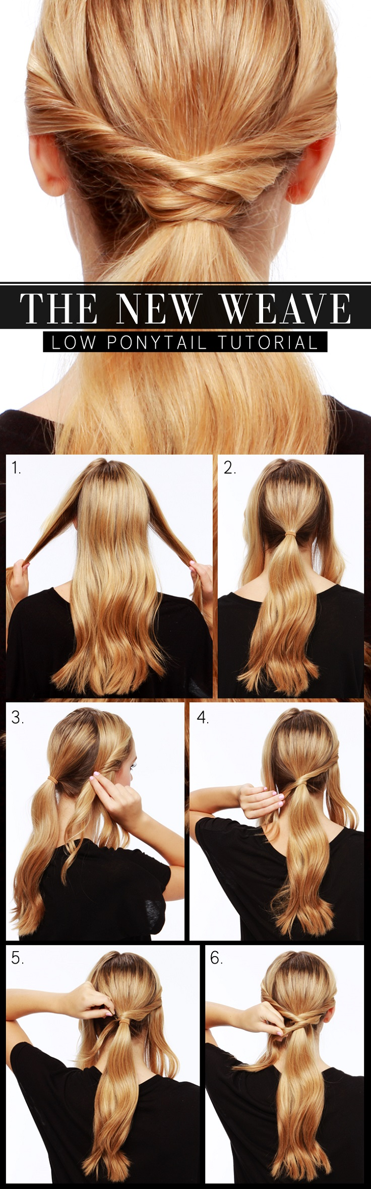 The-New-Weave-Low-Ponytail-Tutorial
