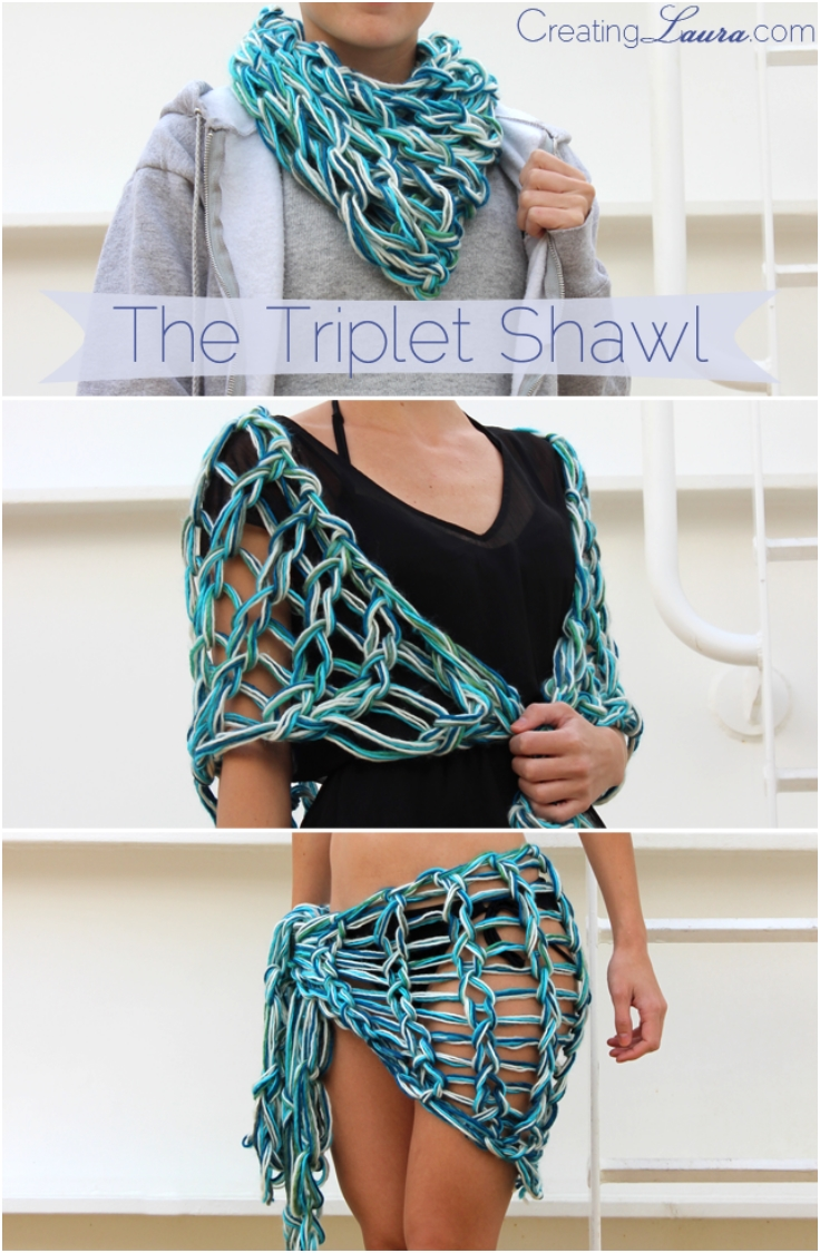 The-Triplet-Shawl-An-Arm-Knitting-Pattern