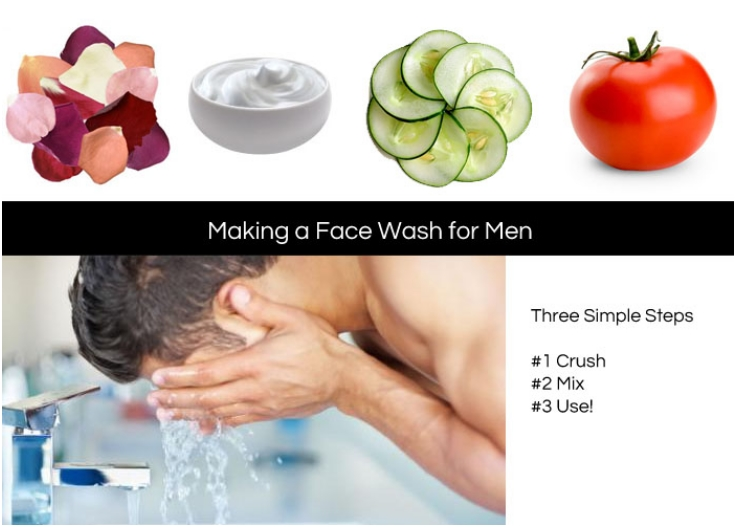 Three-Step-Face-Wash