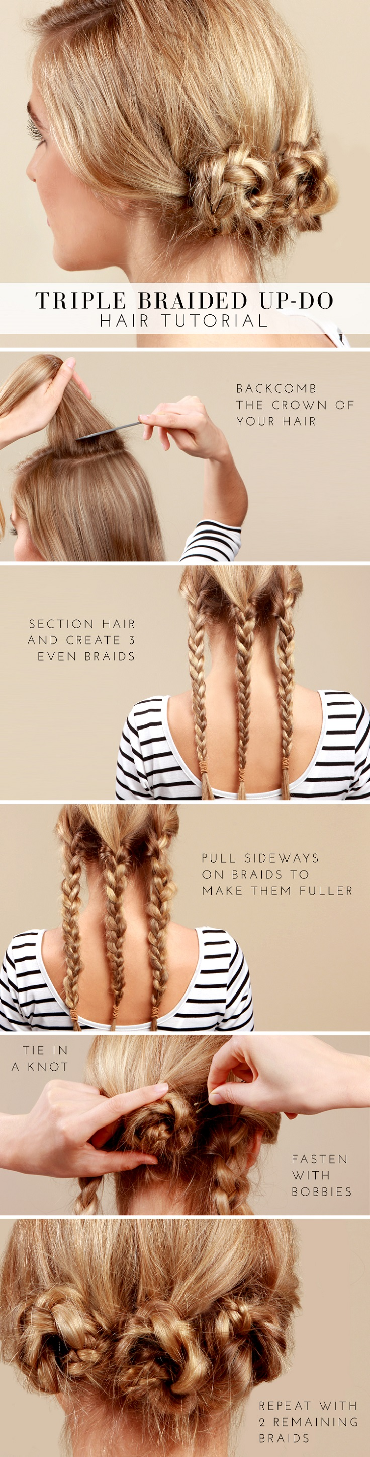 Triple-Braided-Bun-Tutorial