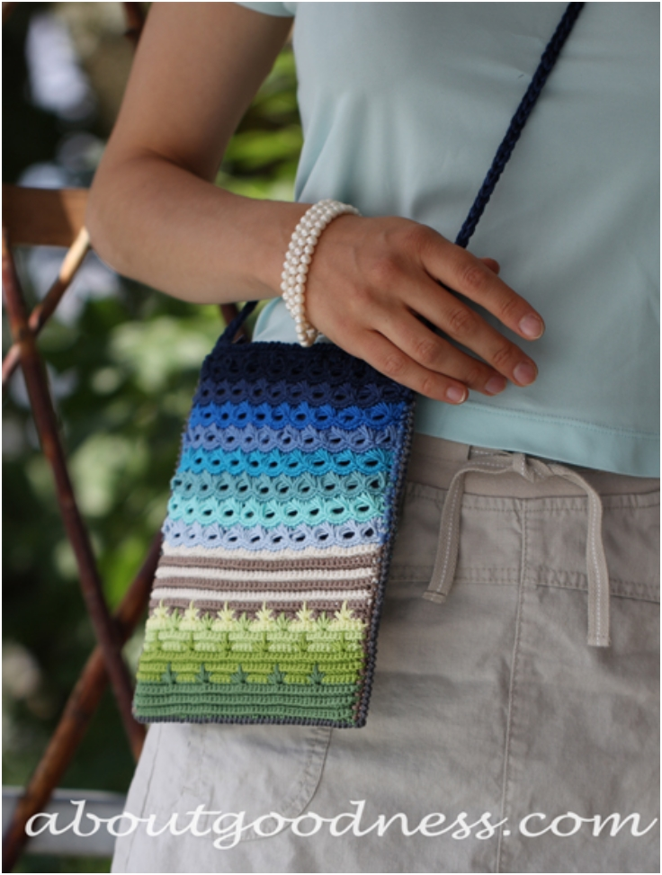 Top 10 Free Patterns For Crocheted Small Summer Purses - Top Inspired