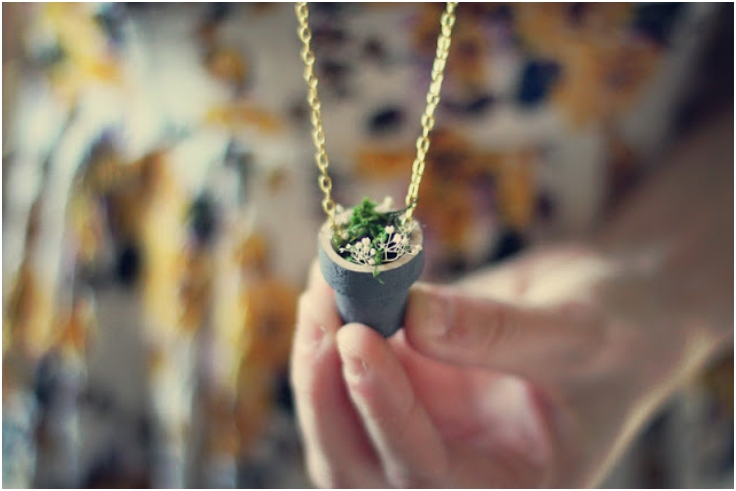 Top 10 Cute DIY Planter Necklaces