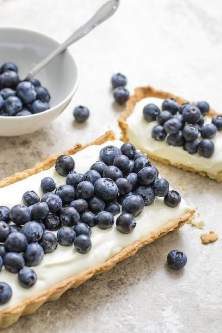 Blueberry-Mascarpone-Tart