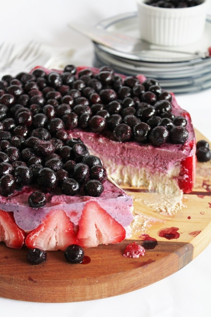 Blueberry-Strawberry-and-Banana-Ice-Cream-Cake