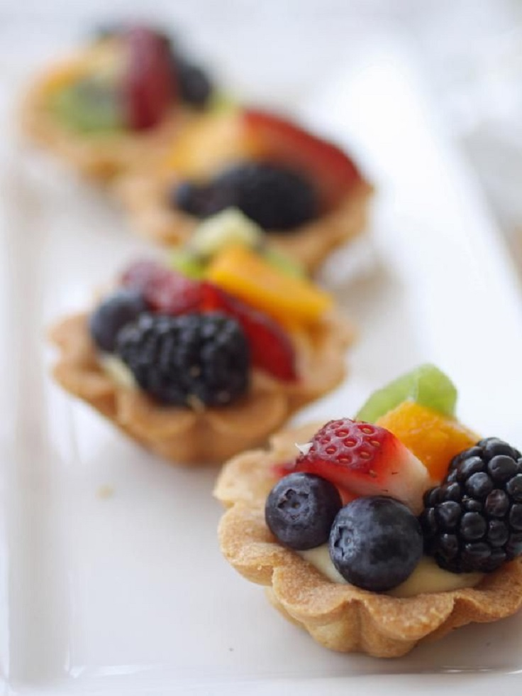 Champagne-Glazed-Fruit-Tart-Recipe