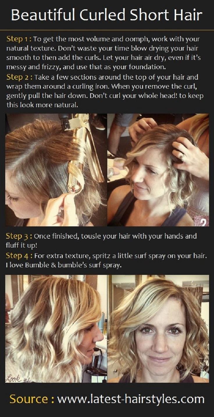 Curled-Short-Hair-Tutorial
