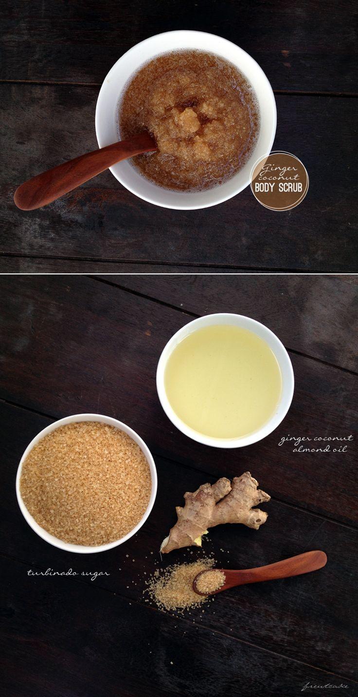 DIY-ginger-coconut-body-scrub
