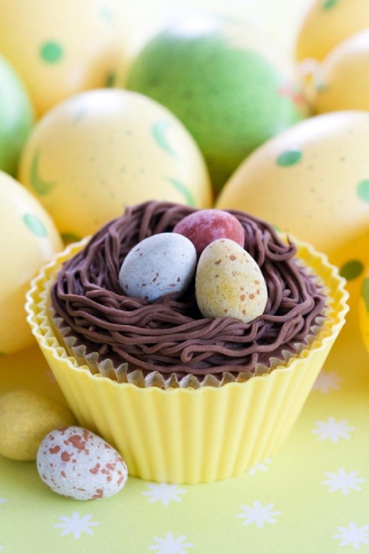 Chocolate Mini Egg Cupcake
