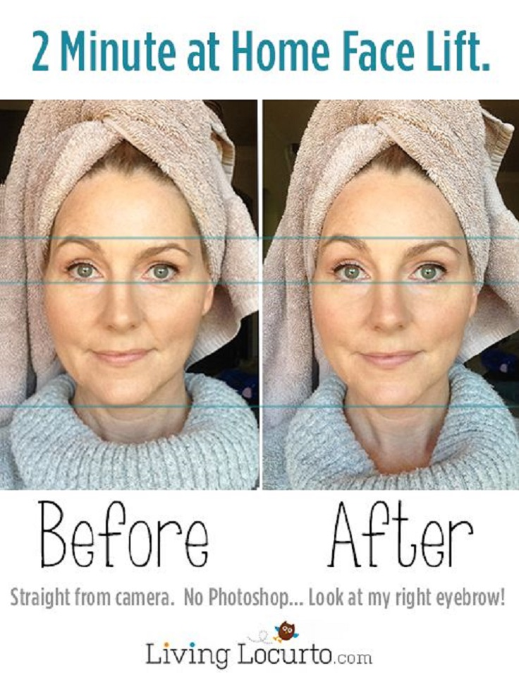 Easy-DIY-At-Home-Face-Lift