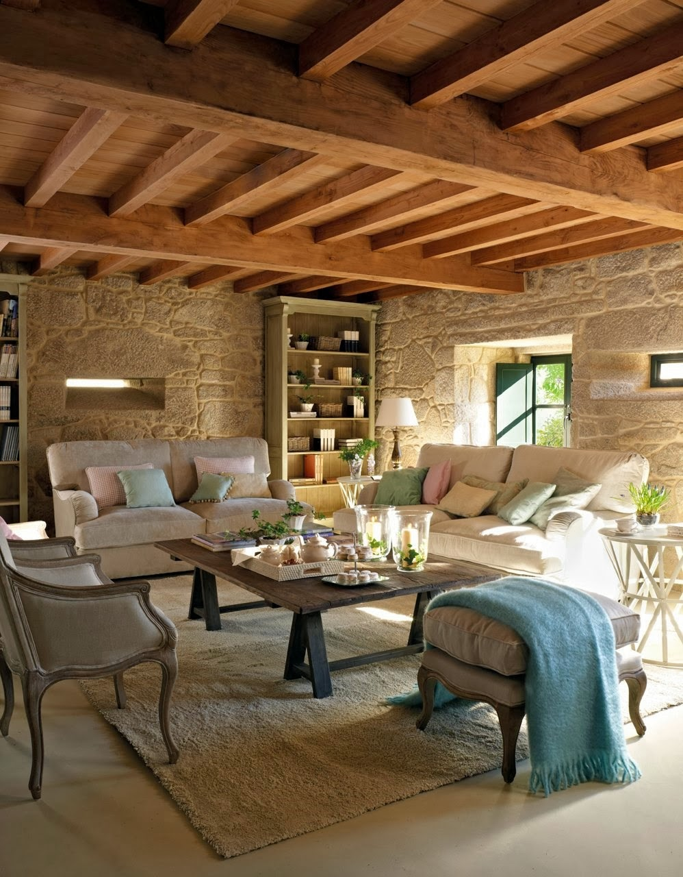 Top 10 rustic home decorations you would love 7 - Decoracion de techos rusticos ...