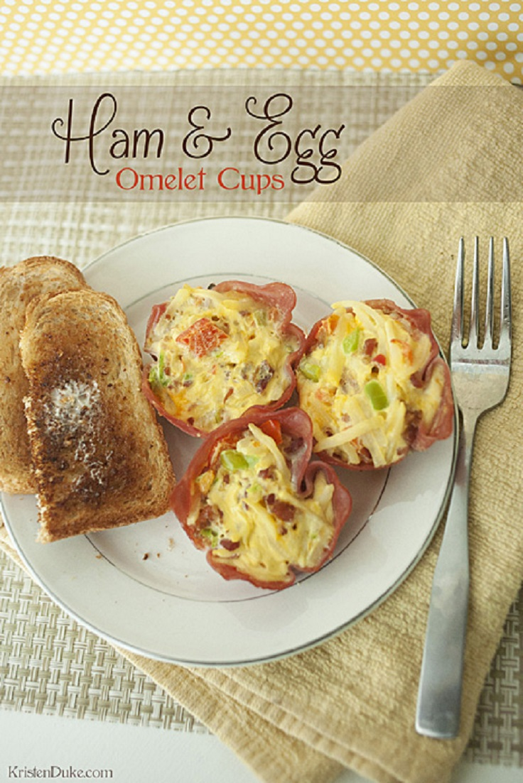 Ham-and-Egg-Omelet-Cups