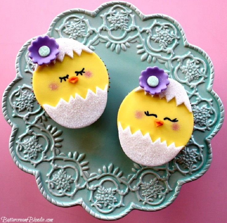 Hatching-Chick-Easter-Cupcakes
