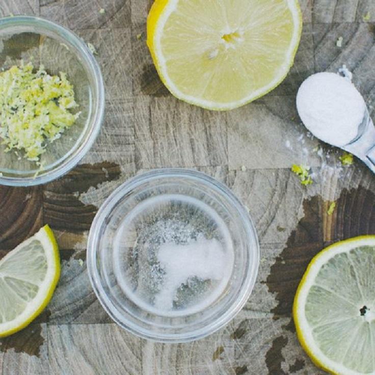 Lemon-Coconut-Oil-and-Baking-Soda-Face-Mask