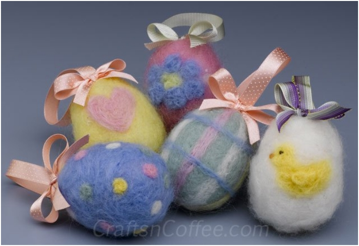 Needlefelted-Easter-eggs