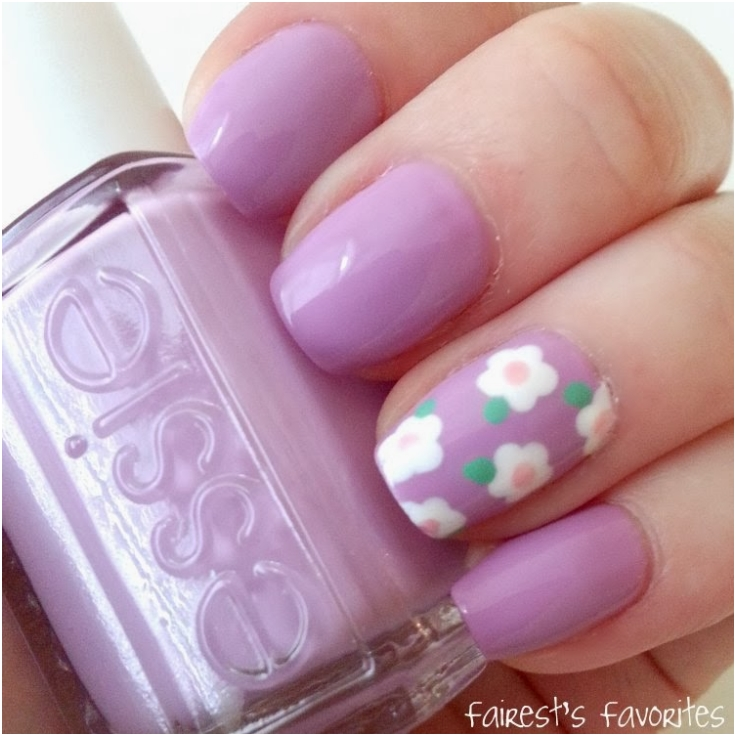 Top 10 Spring Welcoming Floral Nail Art Tutorials