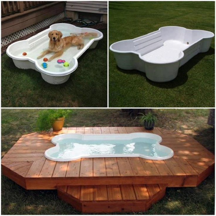 Repurposed-pallets-and-old-cedar-into-dog-bath