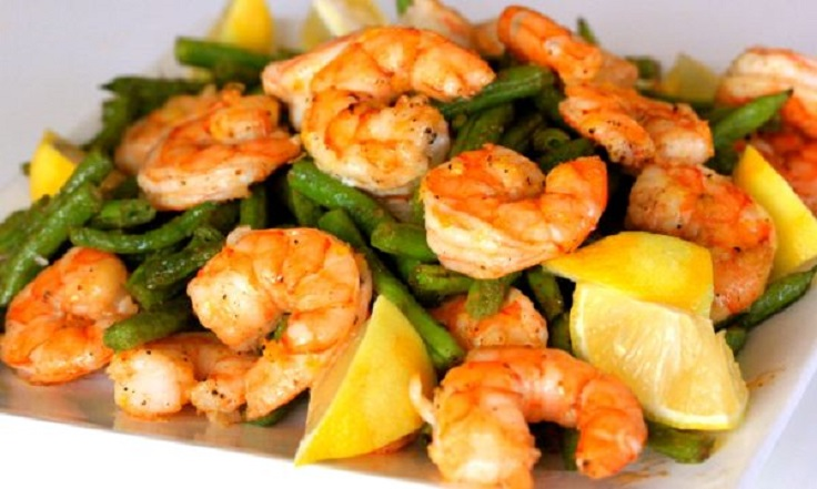Roasted-Shrimp-and-Green-Beans