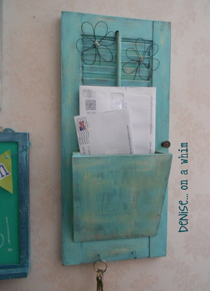 Shutter-transformed-into-super-cute-mail-holder