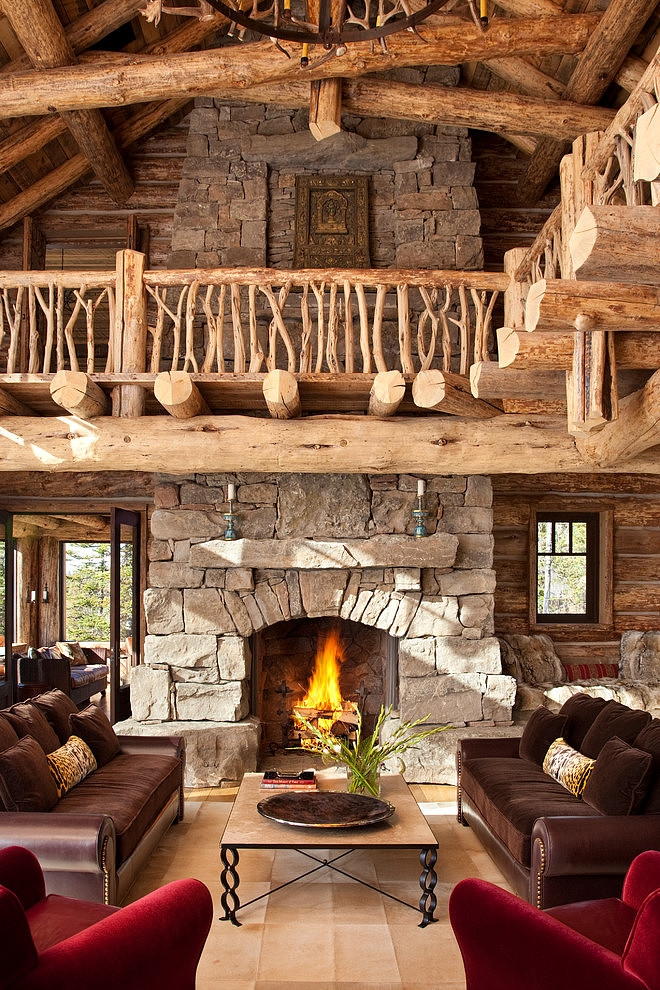 Stone-Chimney-Guest-Room