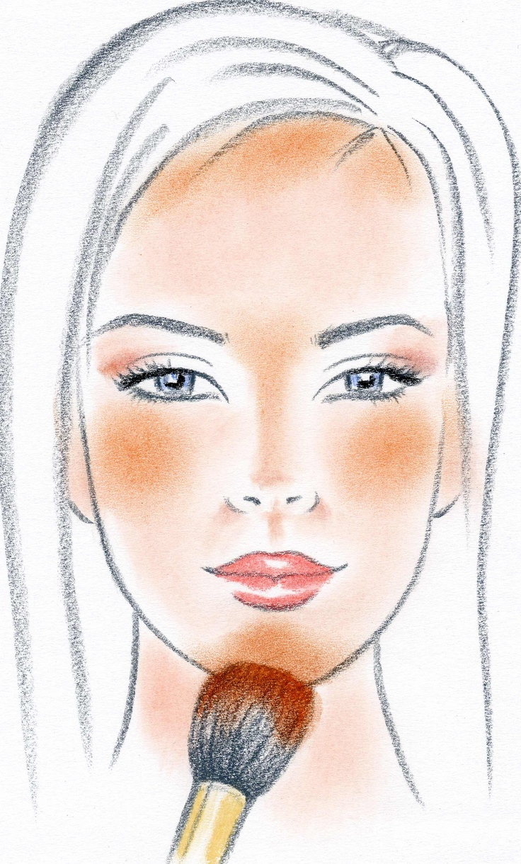Technique Applying Cream Blush Or Highlighter: Top 10 Makeup Tips To Make Your Nose Look Smaller