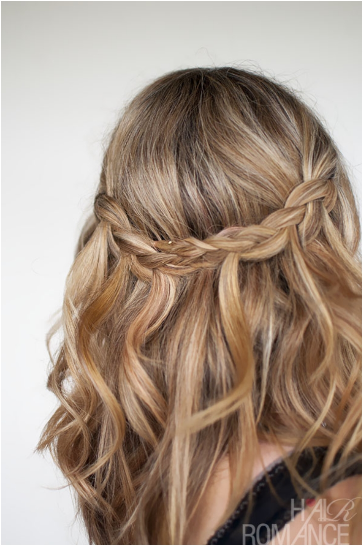 top 10 wonderful waterfall braid tutorials - top inspired