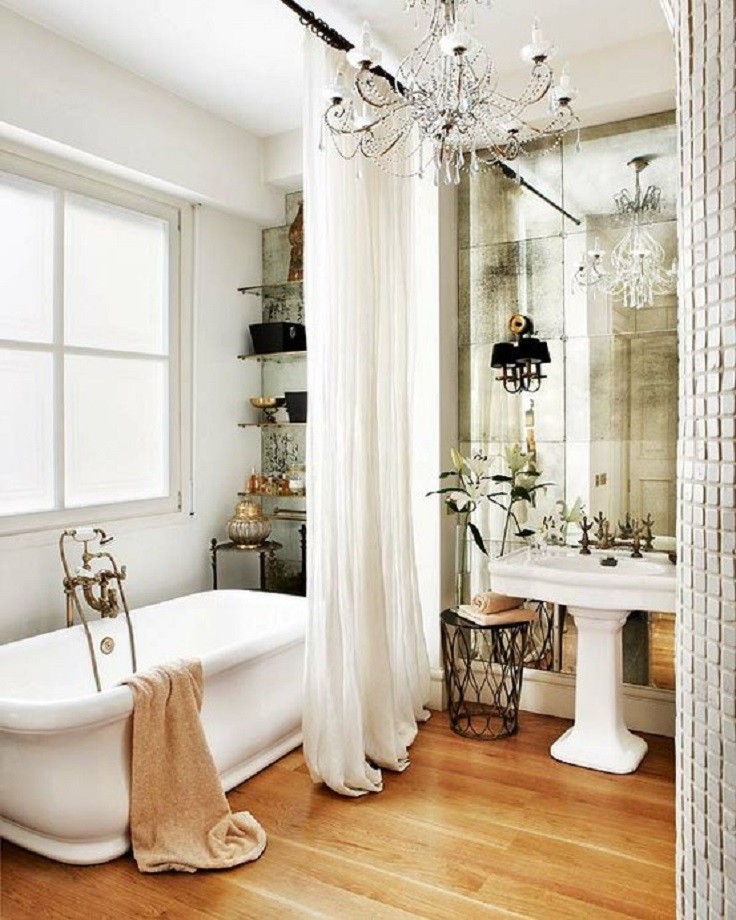 Elegant Bathroom Goals Flowers: Top 10 Ways To Include Curtains In Your Bathroom Decor
