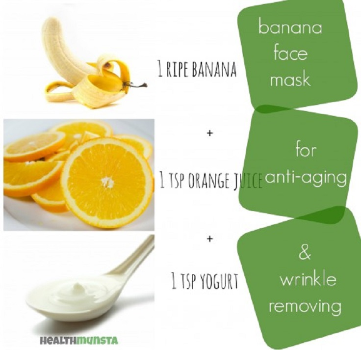 Wrinkle-Removing-Banana-Face-Mask