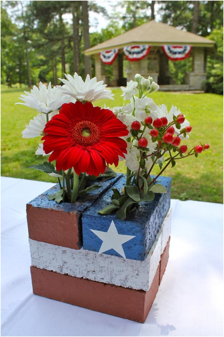 American-Flag-Centerpiece