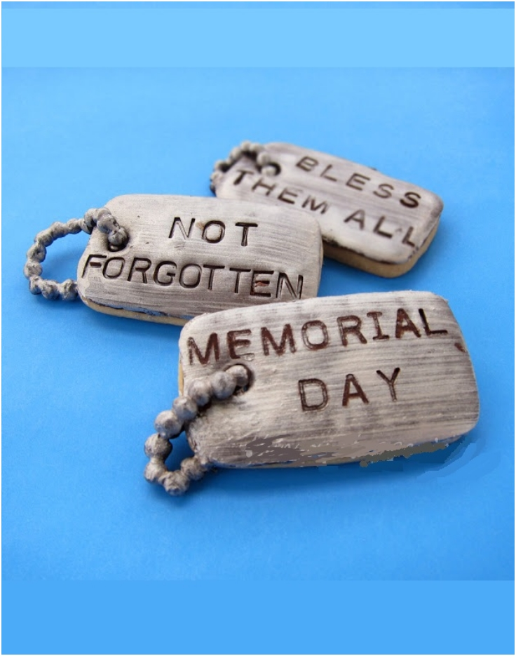 Dog Tag Cookie