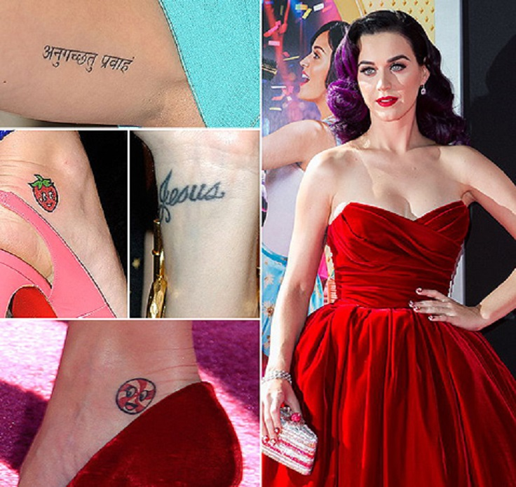Alakei3 S Blog Top 10 Female Celebrity Tattoos