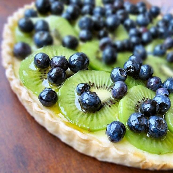 Kiwi-Blueberry-Cream-Cheese-Tart