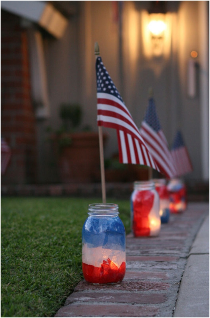 Patriotic-Mason-Jar-Luminaries