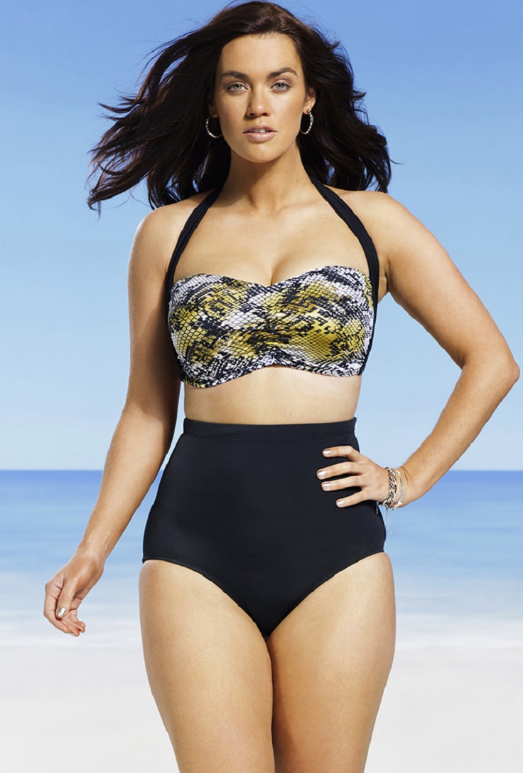 To celebrate the gorgeous, curvy ladies out there, we've got the Top 10 plus-size swimsuits currently available in Since we all have summer on the brain, these sexy bikinis and one-pieces are here to help you take in the new season like a pro.