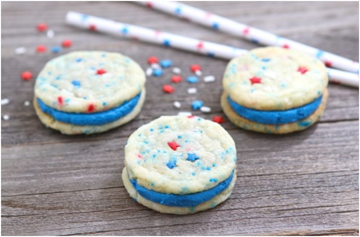 Red-White-Blue-Funfetti-Sandwich-Cookies