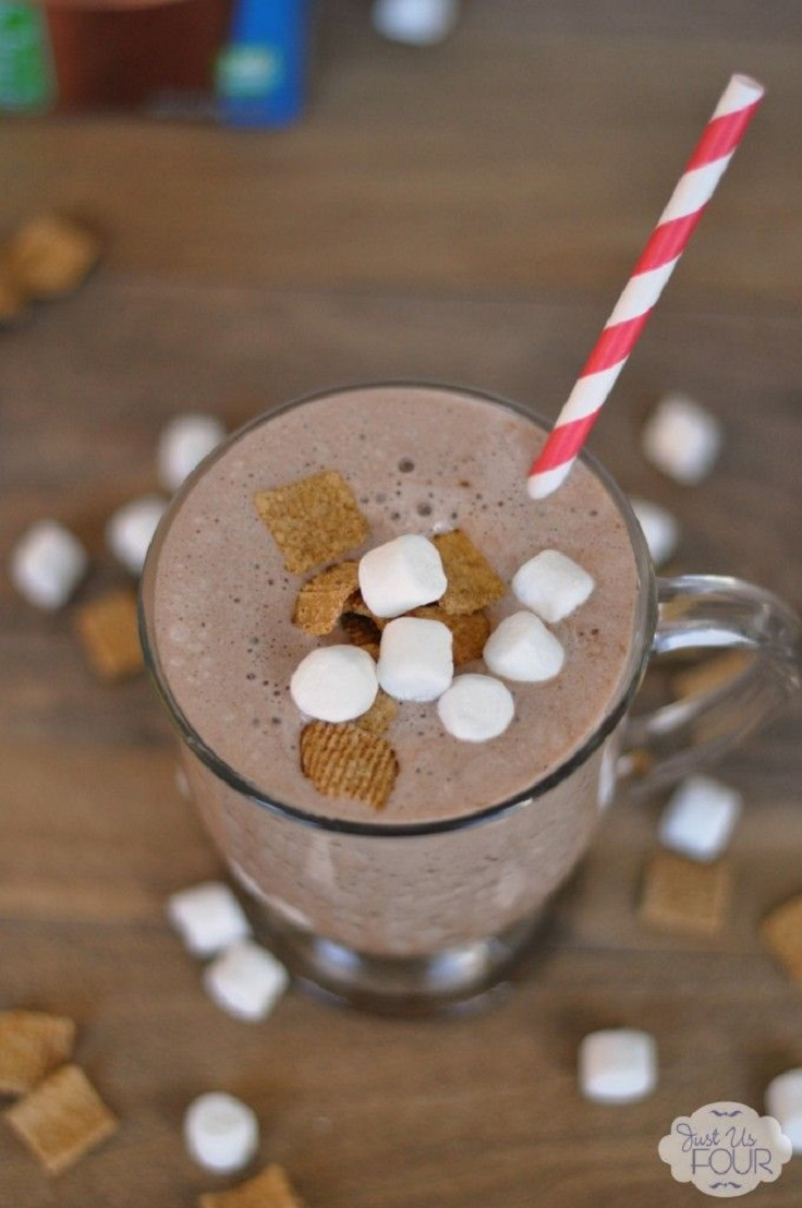 Smores-Chocolate-Smoothie