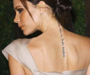 Top 10 Female Celebrity Tattoos