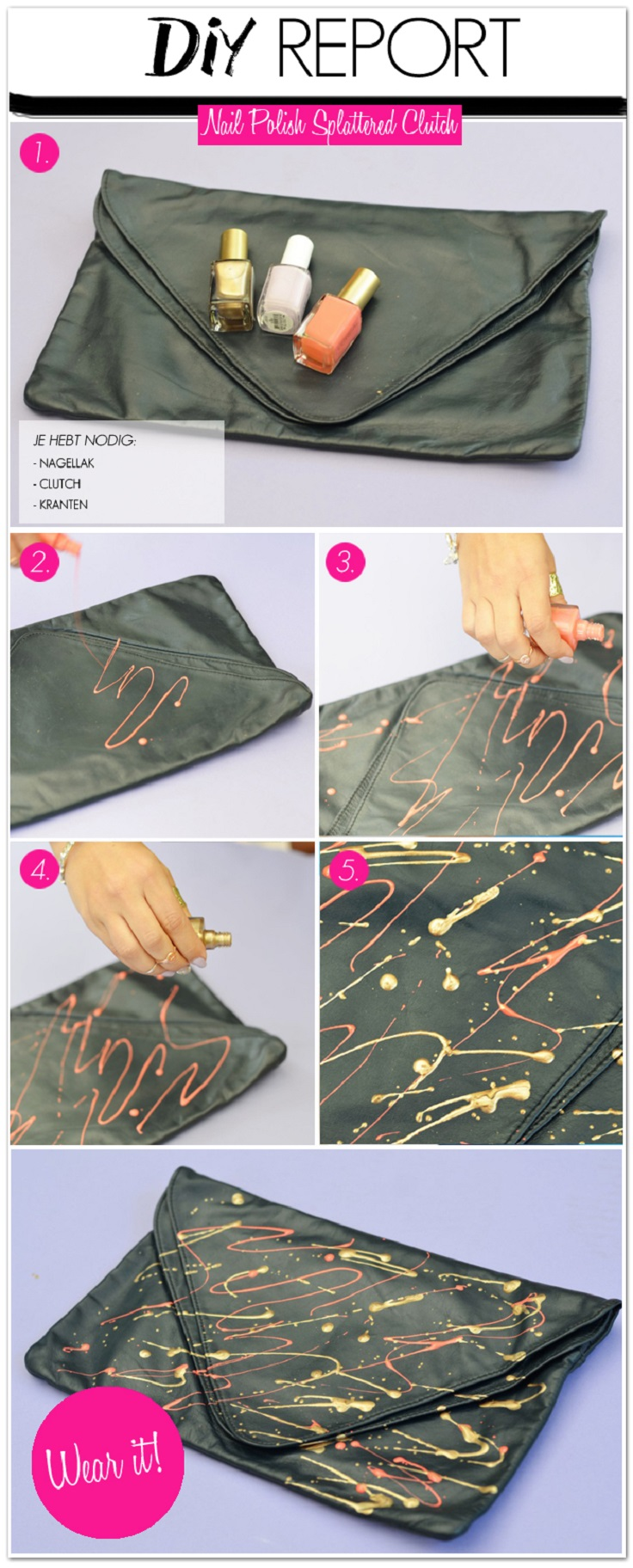 Top 10 Unusual Things You Can Do with Nail Polish