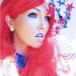4th-July-Flag-Lips-And-Soft-Makeup-150x150
