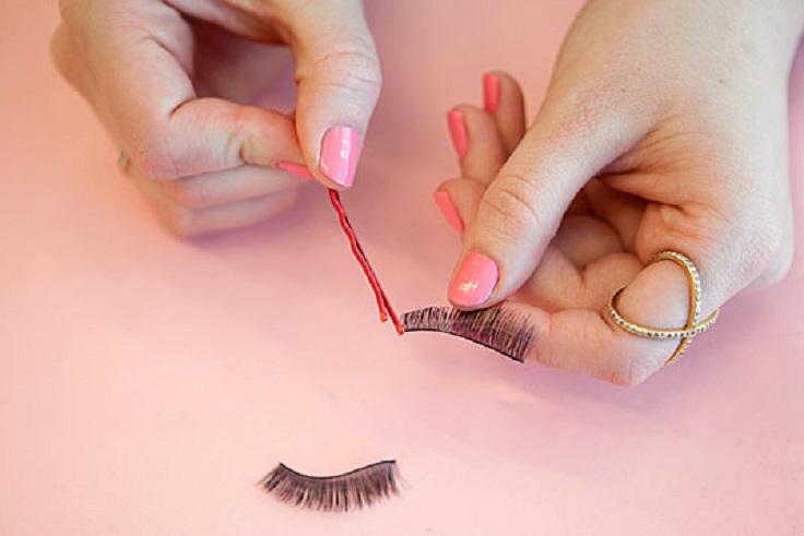 Apply-eyelash-glue-to-false-lashes