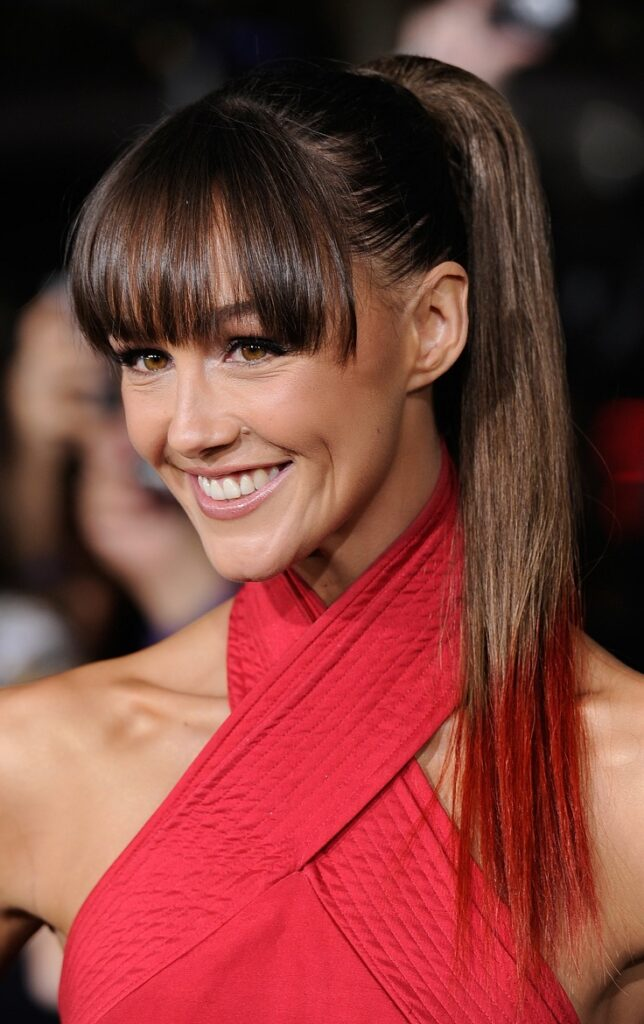 Top 10 Trendy Hairstyles With Bangs Top Inspired