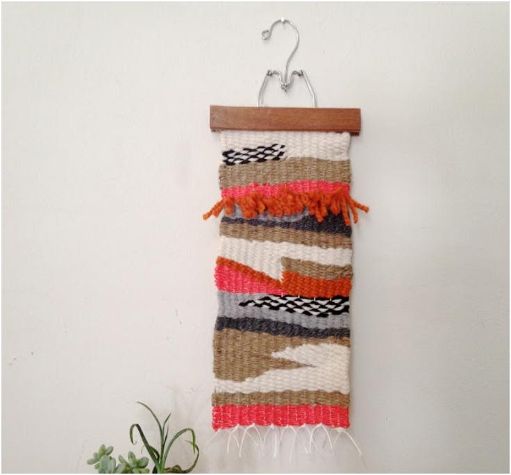 Cardboard-Tapestry-Weaving
