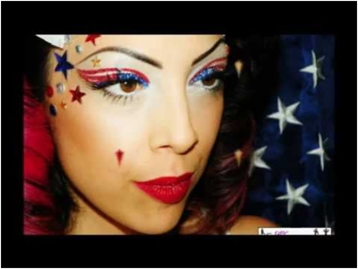 Dramatic-Flag-Makeup