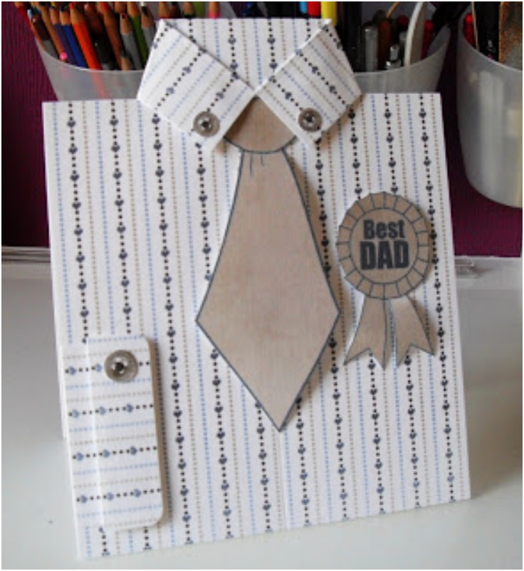 Dress-Shirt-And-Tie-Card