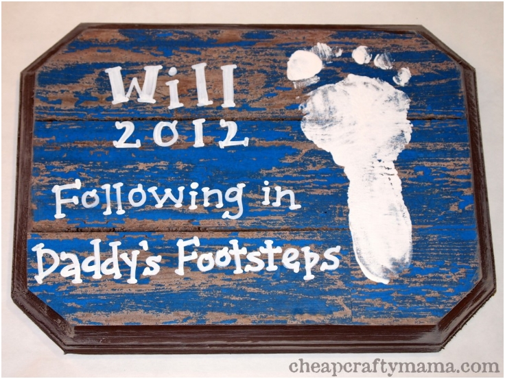 Fathers-Day-Footprint-Plaque